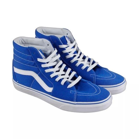 24caba9f26b62 Vans sk8 hi sneakers imperial blue men size 9 new.  M_5a98341346aa7c9ef03187e6